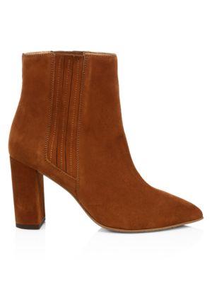 Aquatalia Sierra Suede Ankle Boots