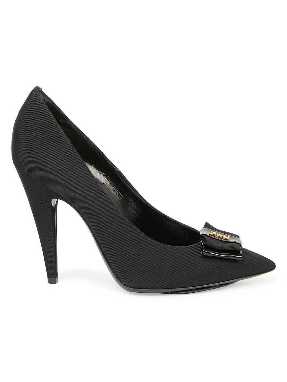 Saint Laurent WOMEN'S ANAIS RIBBED PUMPS