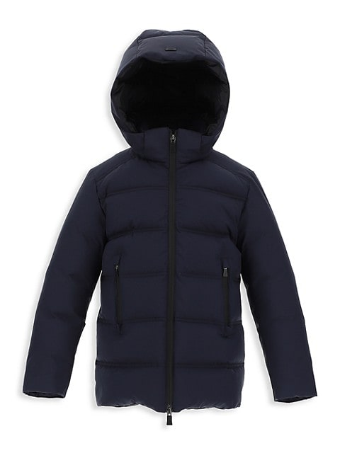 Boy's Laminar Goretex Windstopper Quilted Parka