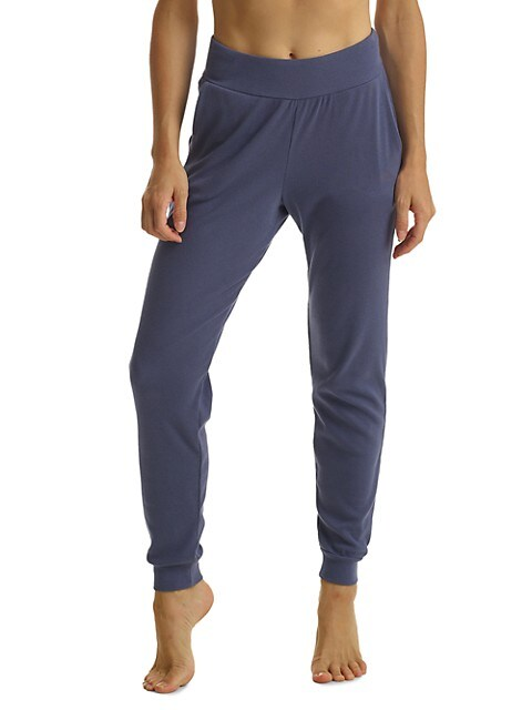 Luxury Ribbed Joggers
