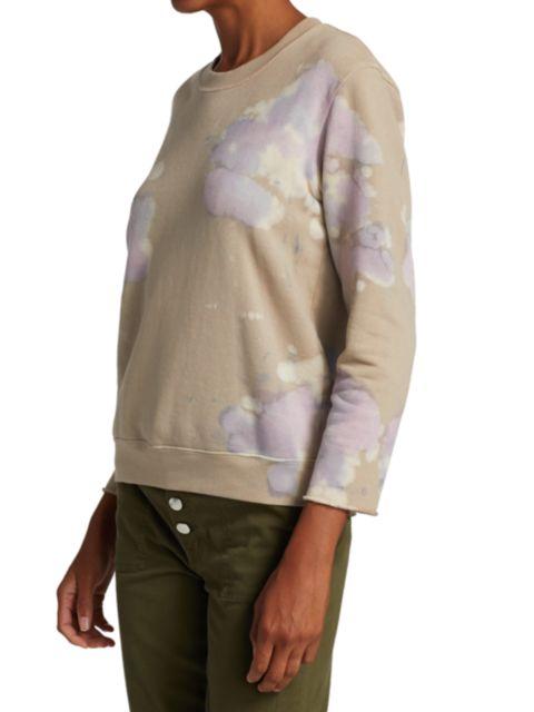 Raquel Allegra Tie-Dye Sweatshirt | SaksFifthAvenue