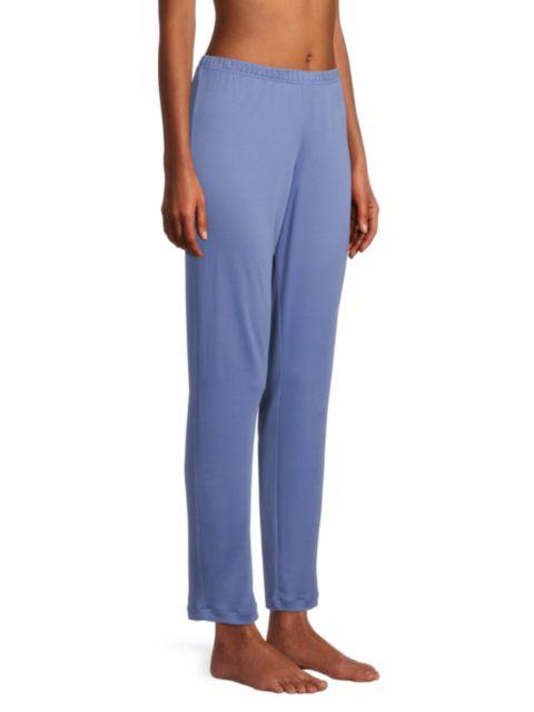 Hanro Madlen Embroidery-Trimmed 2-Piece Long Pajama Set | SaksFifthAvenue