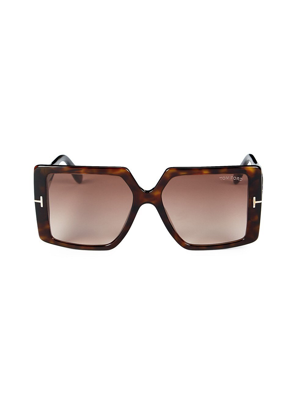 Tom Ford Women's Quinn 57MM Square Sunglasses - Havana