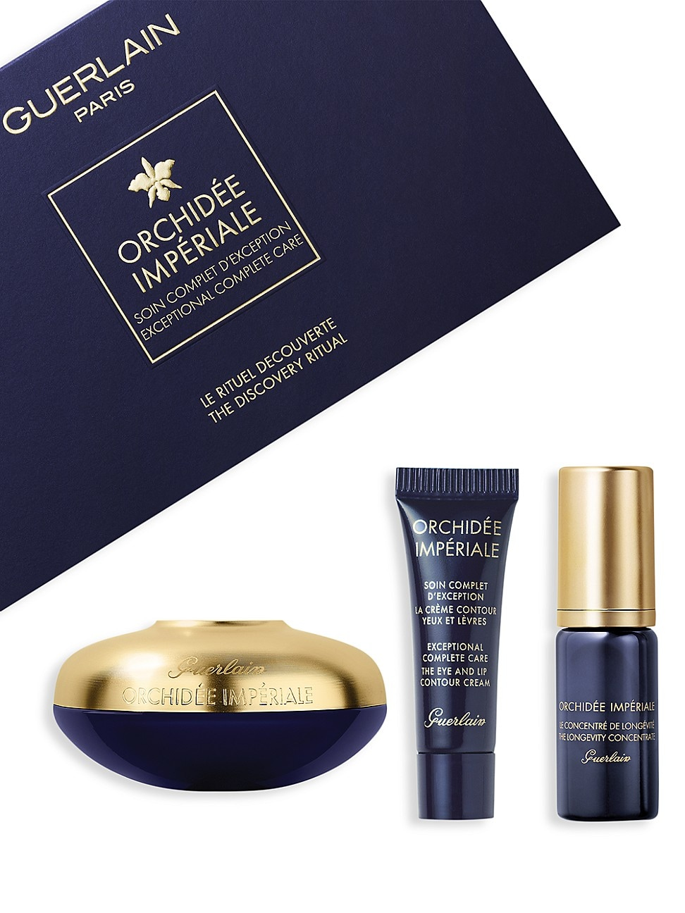 Guerlain Beauty sets ORCHIDEE IMPERIALE ANTI-AGING CREAM SKINCARE 3-PIECE VALUE SET