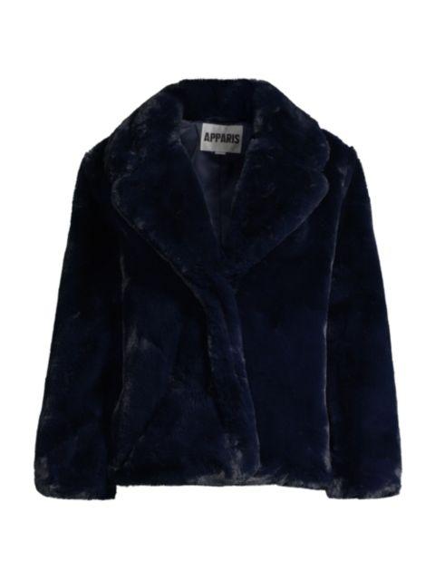 Apparis Manon Oversized Faux-Fur Coat | SaksFifthAvenue
