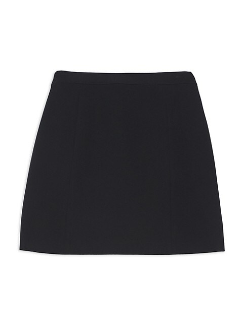 Theory Staple Wrap Mini Skirt