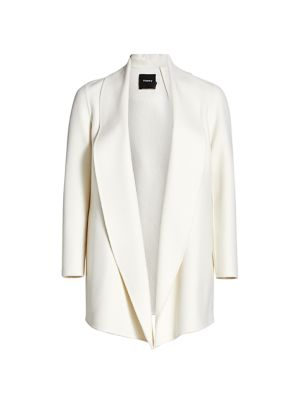 Theory Clairene Shawl Collar Jacket