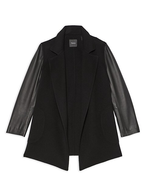 Theory Clairene Open-Front Jacket