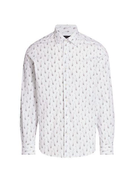 COLLECTION Giraffe-Print Sport Shirt