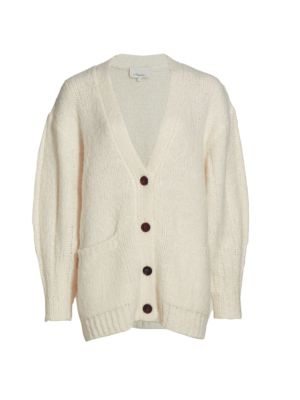3.1 Phillip Lim Alpaca Wool-Blend Grandpa Cardigan