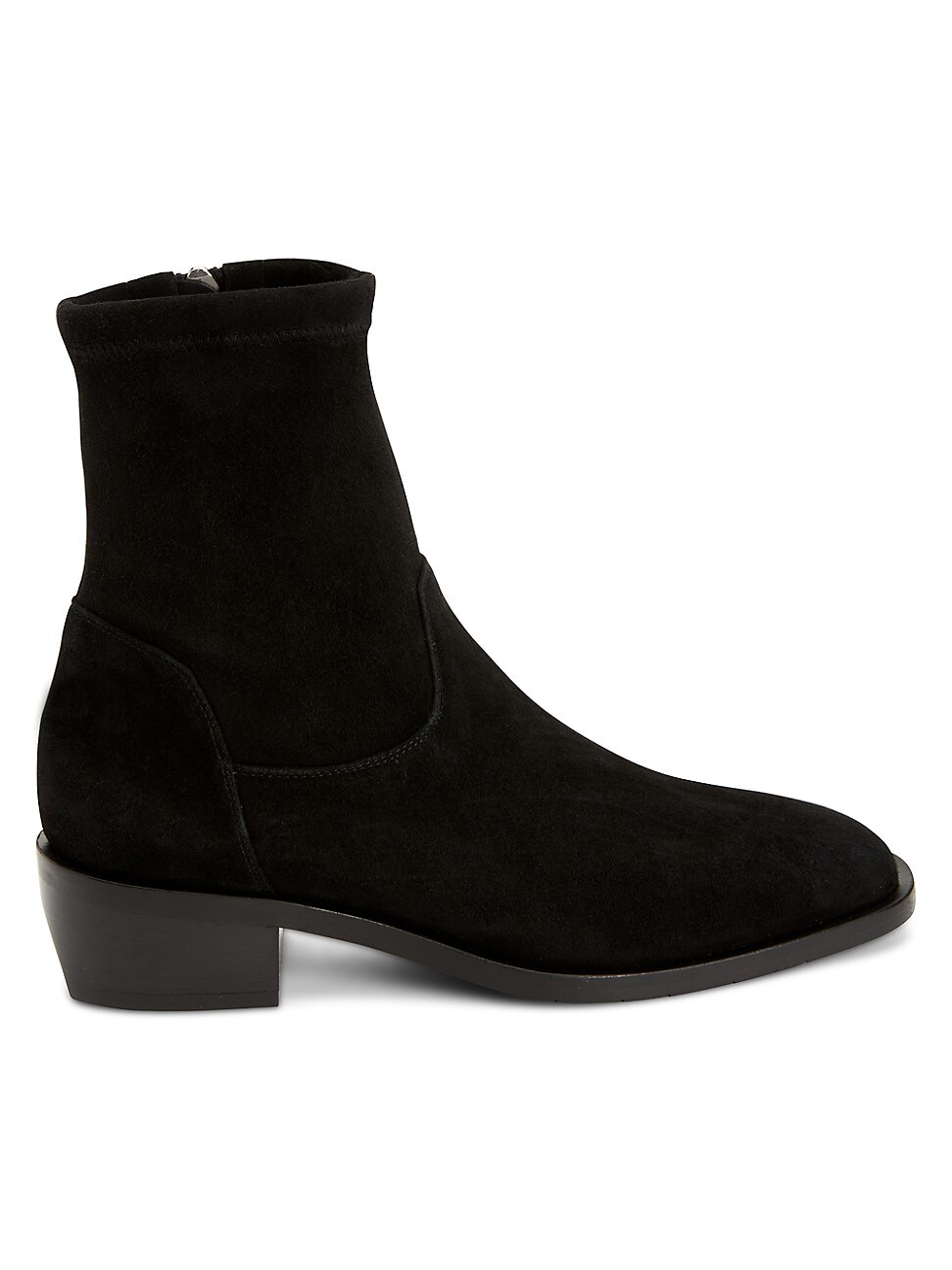 Aquatalia WOMEN'S FALLAN STRETCH-SUEDE ANKLE BOOTS