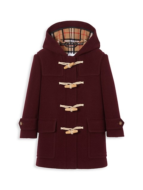 Little Girl's & Girl's Alistar Wool Duffle Coat