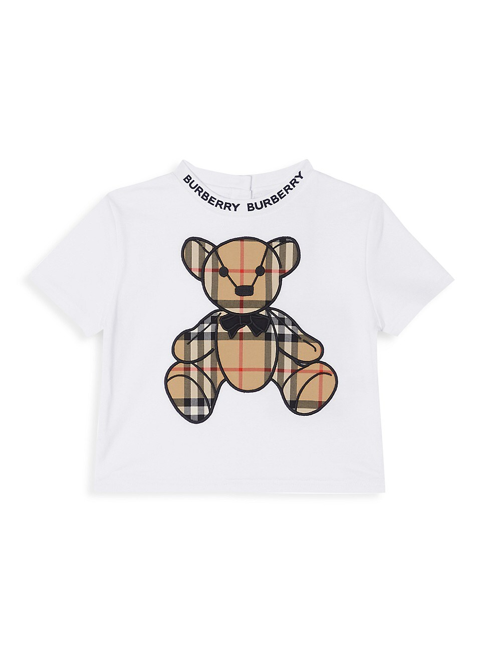 Burberry BABY'S & LITTLE KID'S DANNY VINTAGE CHECK COTTON T-SHIRT