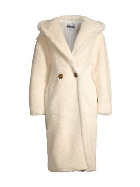 Apparis Mia Hooded Longline Coat | SaksFifthAvenue