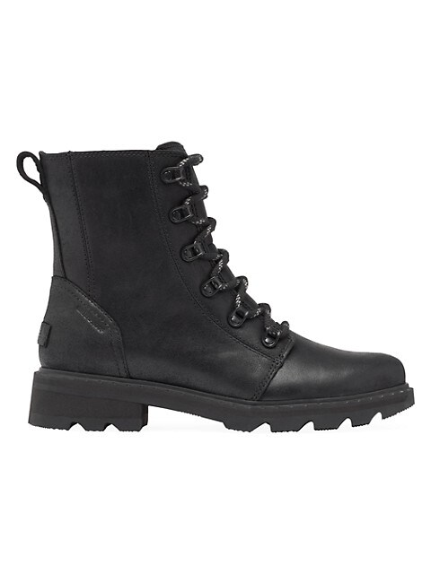 Lennox Leather Combat Boots