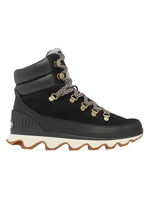 Kinetic Conquest Leather & Suede Hiking Boots