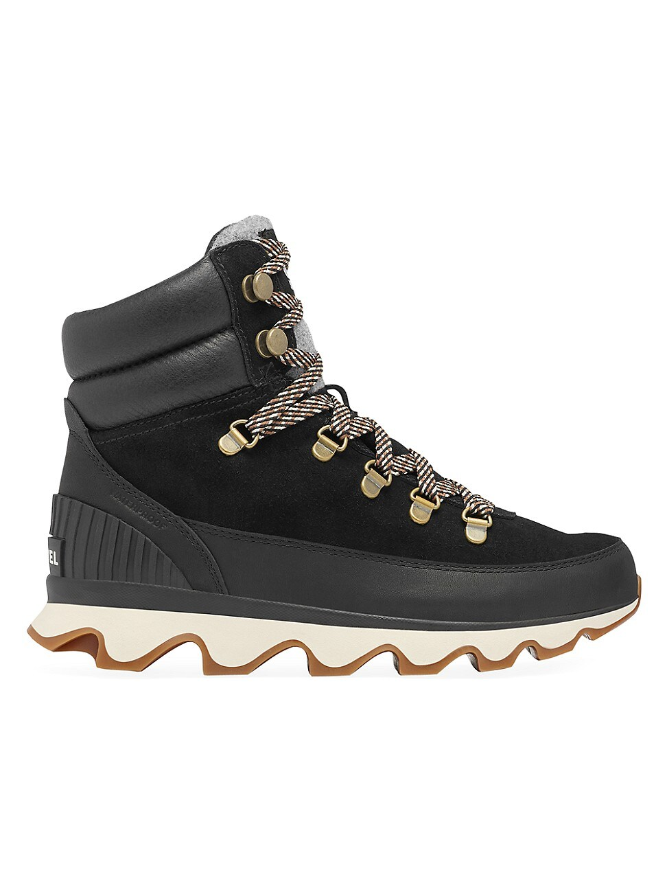 Sorel WOMEN'S KINETIC CONQUEST LEATHER & SUEDE HIKING BOOTS