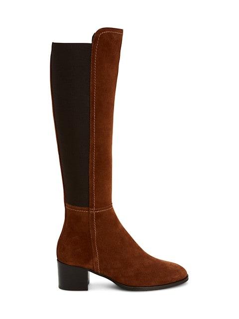 Nova Knee-High Suede Boots