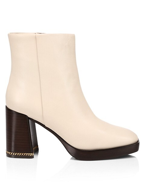 Tory Burch Ruby Leather Ankle Boots