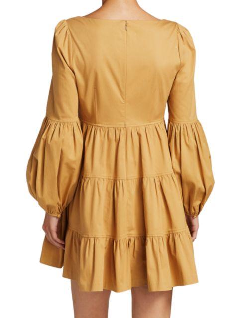 Cinq à Sept Rose Tiered Ruffle Mini Dress   SaksFifthAvenue