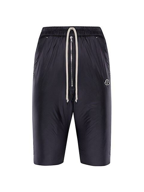 Pod Padded Knee-Length Nylon Shorts