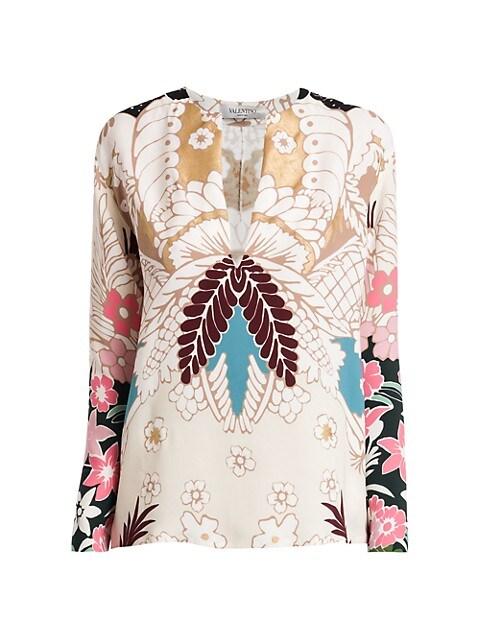 Tapestry Silk Top