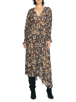 Iro Jorma Printed Maxi Dress