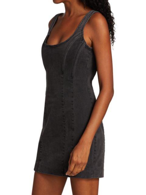 Ksubi Vamp Denim Mini Dress | SaksFifthAvenue