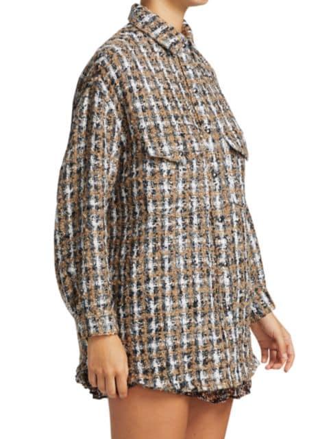 IRO Bleoma Shirt Jacket | SaksFifthAvenue