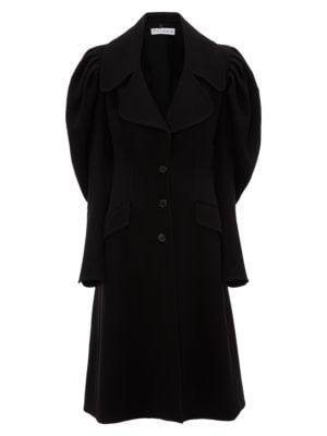 JW ANDERSON Puff-Sleeve Wool Coat