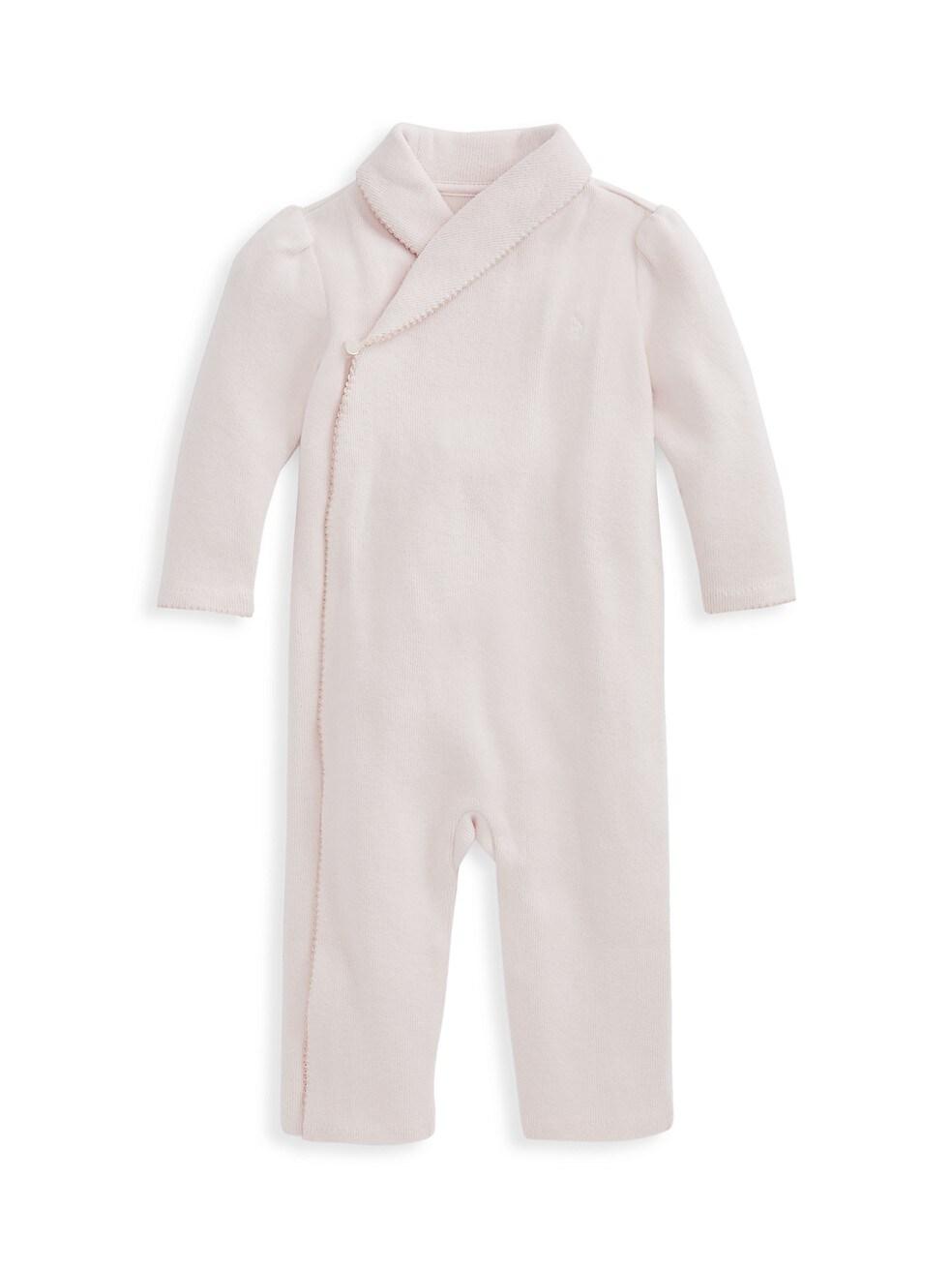 폴로 랄프로렌 베이비 아기옷 우주복  Polo Ralph Lauren Baby Girls Cotton Coverall,PINK