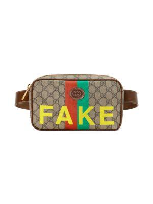 Gucci GG Supreme Fake/Not Belt Bag