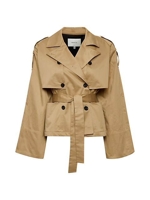 Mia Belted Cotton Jacket