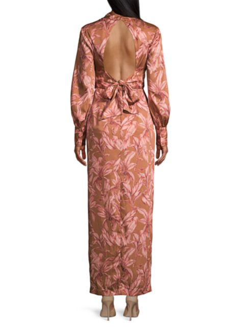 Significant Other Claribell Open Back Dress   SaksFifthAvenue