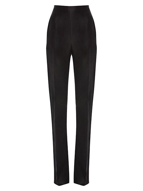 Silk Tuxedo Trousers