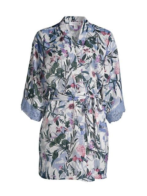 Michelle Floral Robe