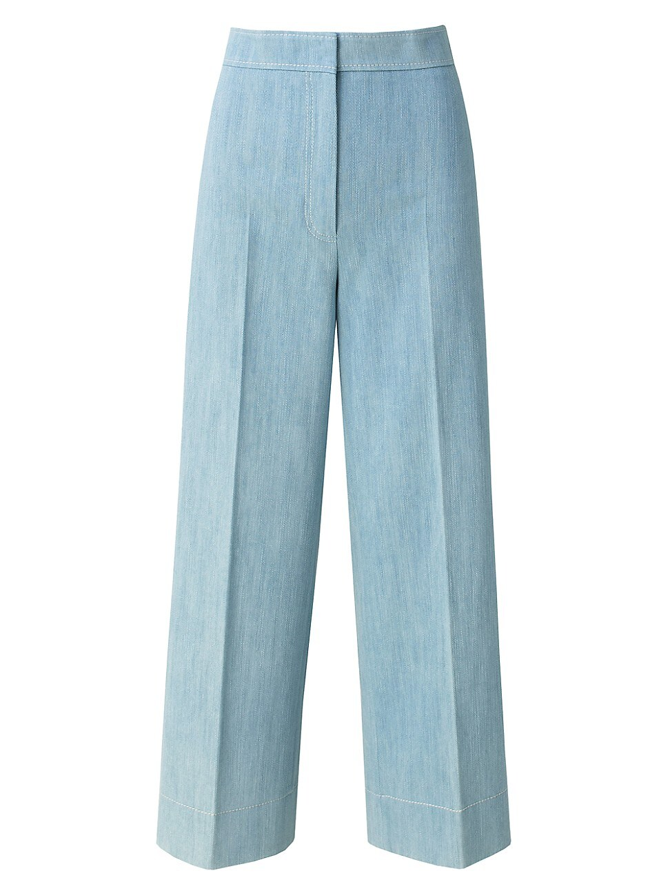 Akris Punto WOMEN'S CHIEKO WASHED DENIM PANTS