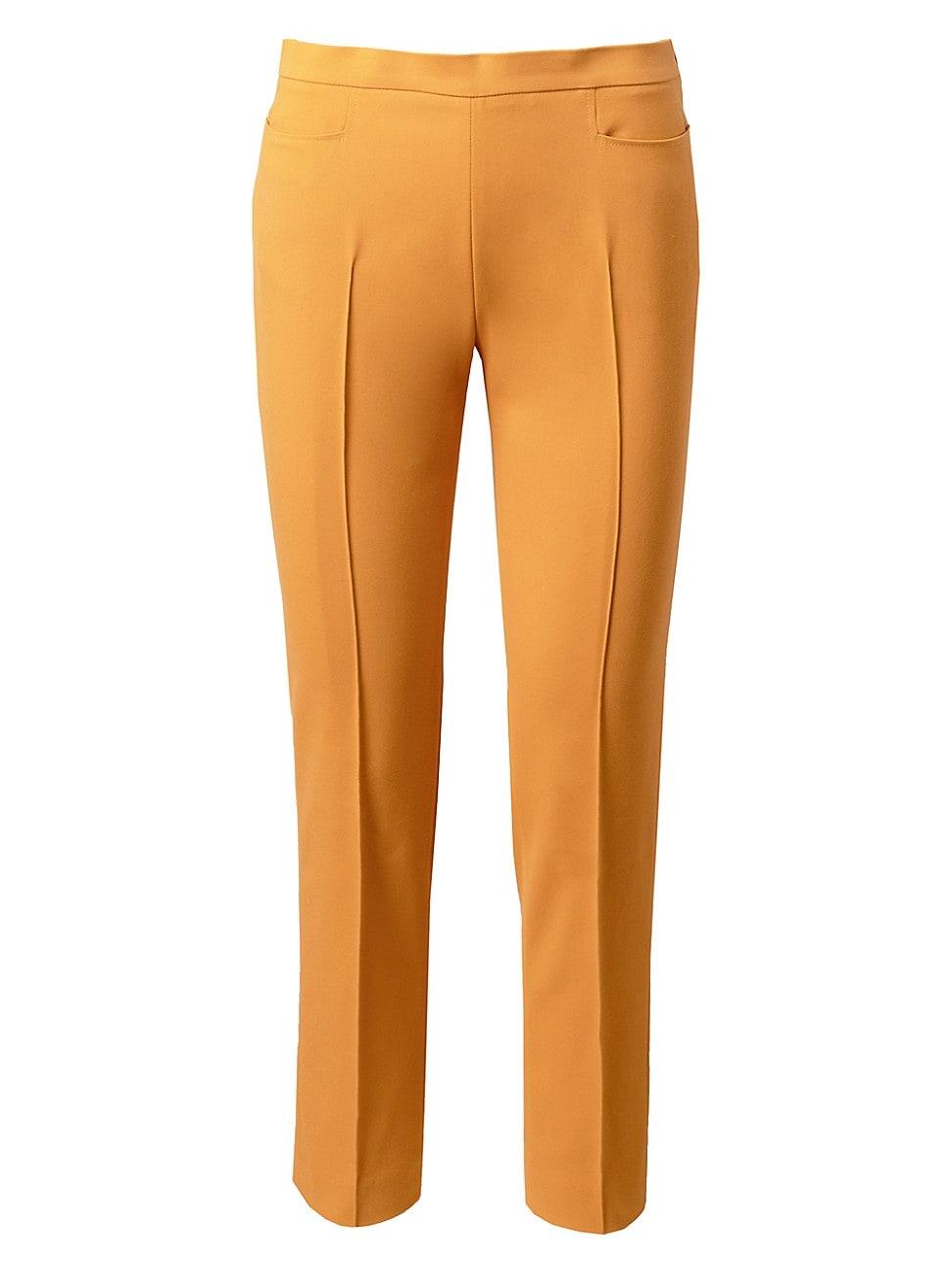 Akris Punto WOMEN'S FRANCA TECHNICAL STRETCH CROPPED PANTS