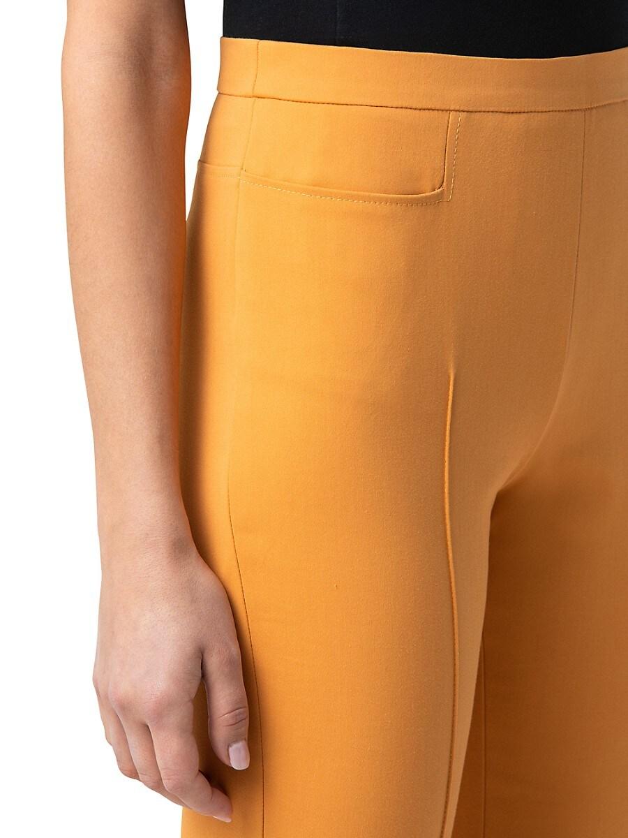 AKRIS PUNTO Cottons WOMEN'S FRANCA TECHNICAL STRETCH CROPPED PANTS