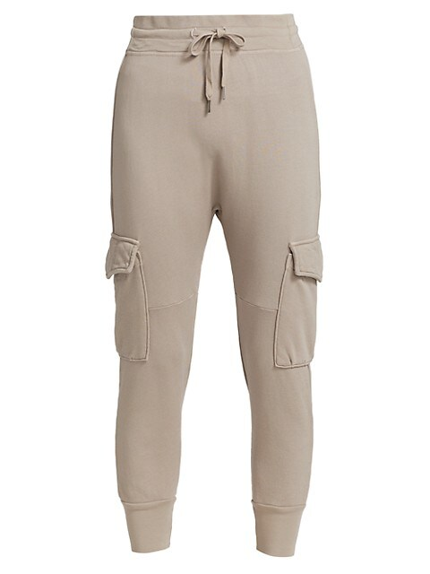 Ellie Cotton Cargo Joggers