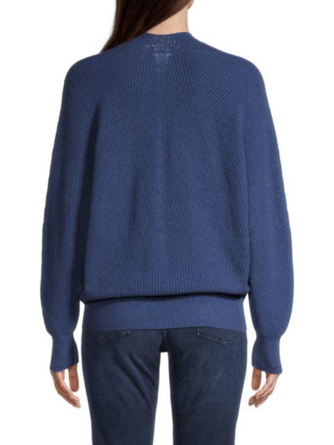 Emporio Armani V-Neck Rib-Knit Sweater | SaksFifthAvenue