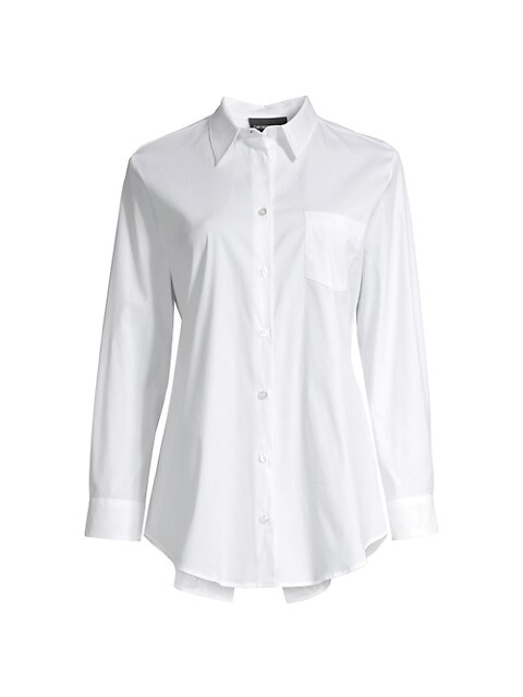 Vented Stretch Poplin Shirt