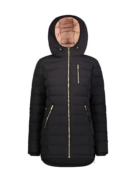 Rockcliff Active Flex Hooded Down Jacket