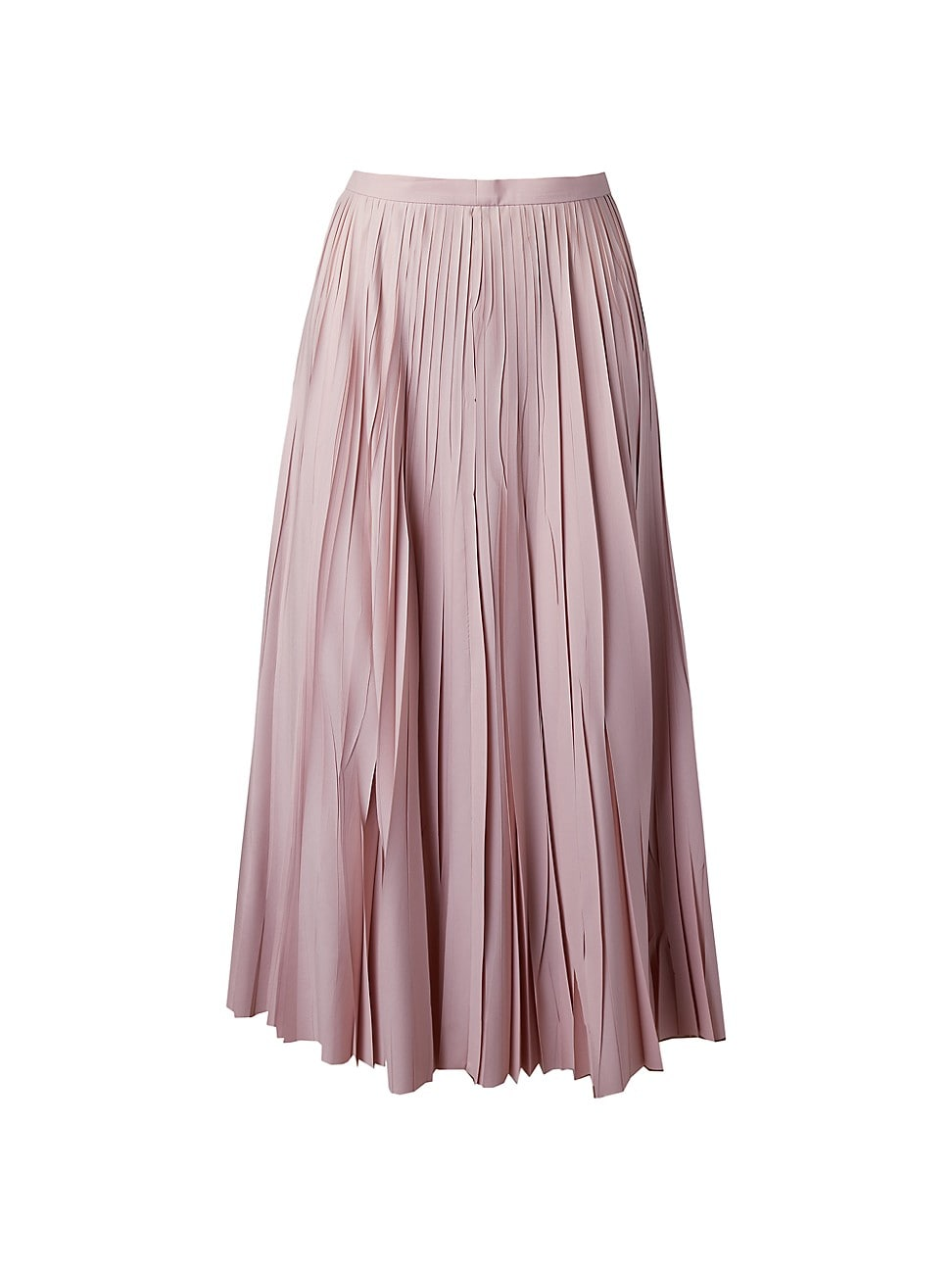 Akris Punto WOMEN'S CRUSHED SUNRAY PLISSÉ MIDI SKIRT
