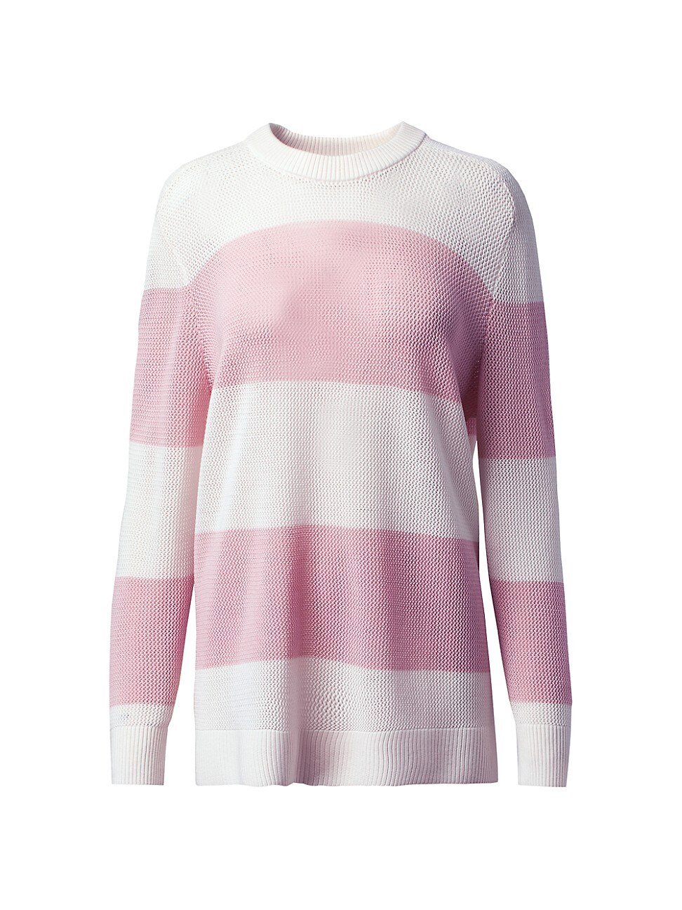 Akris Punto WOMEN'S RESPONSIBLE MERINO WOOL STRIPED KNIT SWEATER