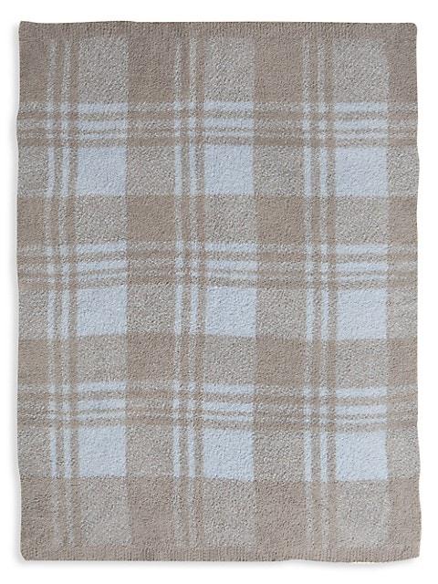 CozyChic Plaid Stroller Blanket
