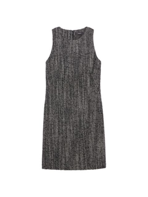 Theory Sleeveless Shift Dress   SaksFifthAvenue