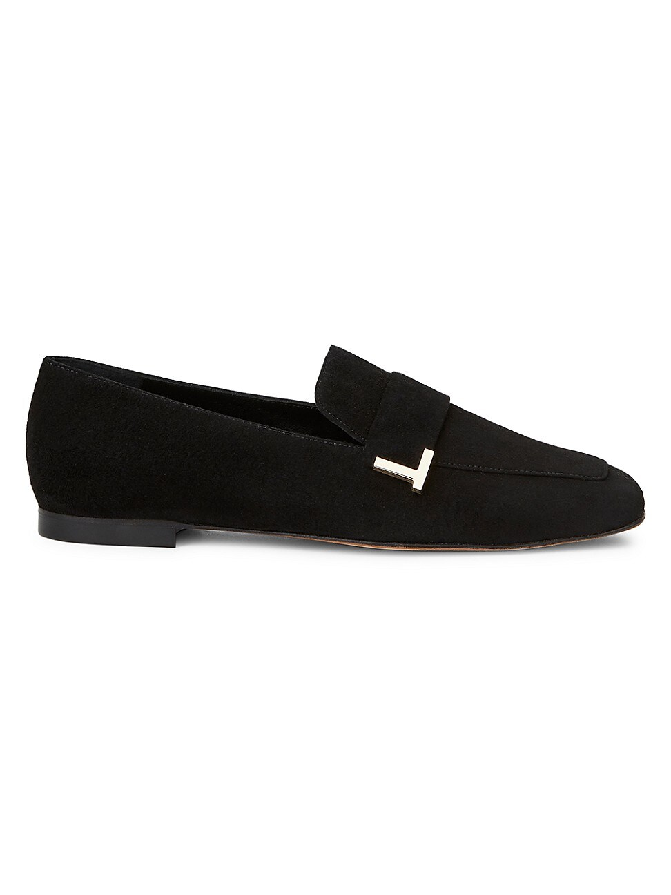 Lafayette 148 WOMEN'S EVE SQUARE-TOE SUEDE LOAFERS
