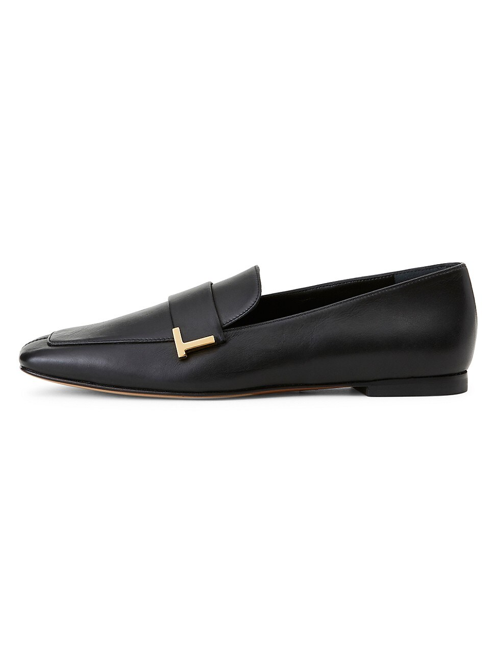 Lafayette 148 WOMEN'S EVE SQUARE-TOE LEATHER LOAFERS