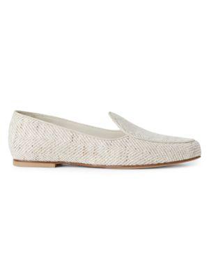 Lafayette 148 Gigi Flannel Loafers